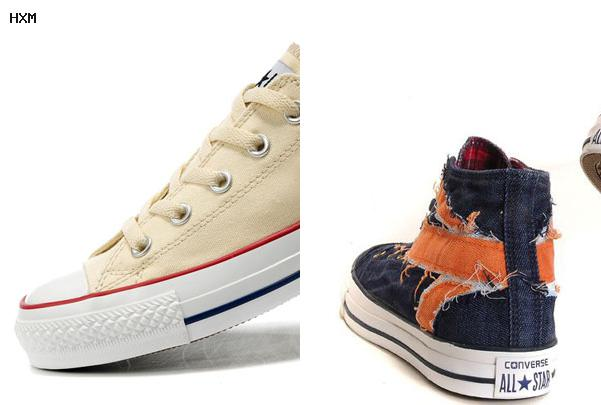 all star converse a stivale