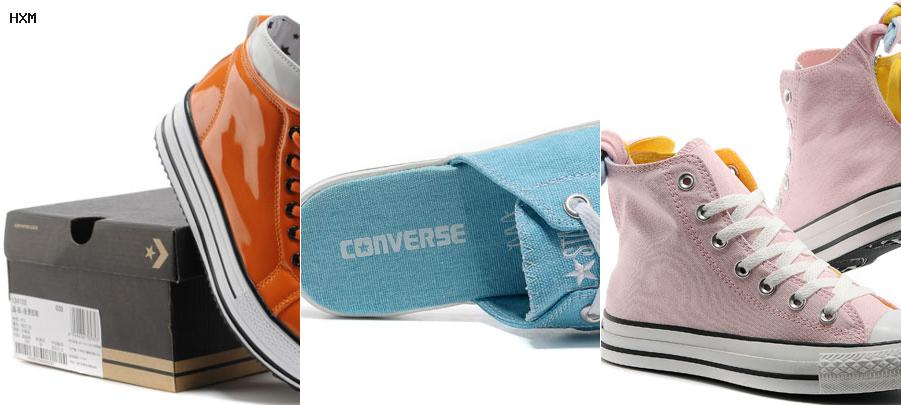 converse double upper leather