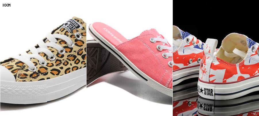 converse gialle basse